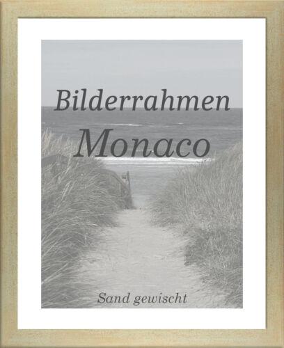 Bilderrahmen Monaco 20x36 cm Foto Poster Puzzle Galerie 36x20 cm