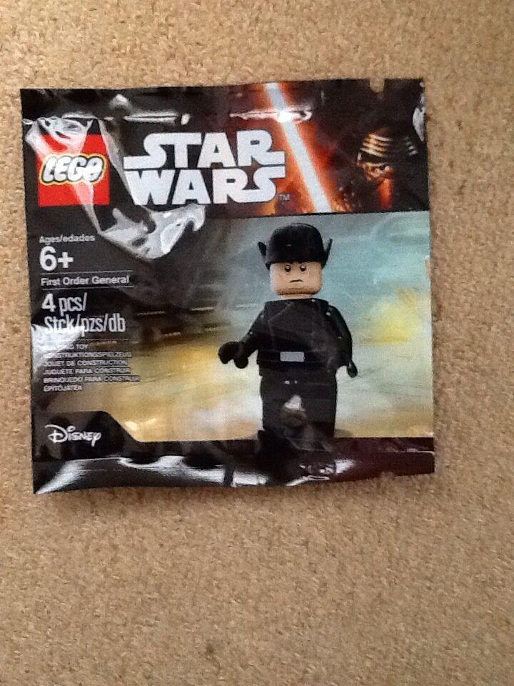 Star Wars Lego Minifigura Raro bolsa de polietileno general general general de primer orden  wholesape barato