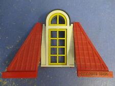 2x eckiges Dach mit Tapete + Terassen Türe zu 3965 7337 Wohnhaus Playmobil 4194