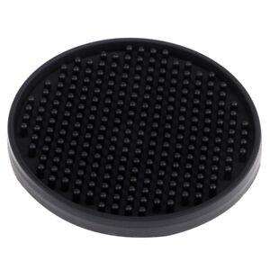 Non-slip-Silicone-Coasters-Drink-Coasters-Protection-Table-Decoration-Black