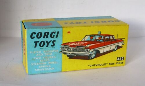 Repro Box Corgi Nr.482 Chevrolet Fire Chief