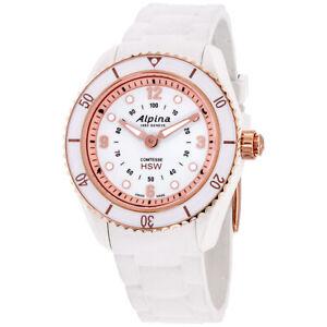 Alpina Comtesse Quartz Movement White Dial Ladies Watch AL-281WY3V4