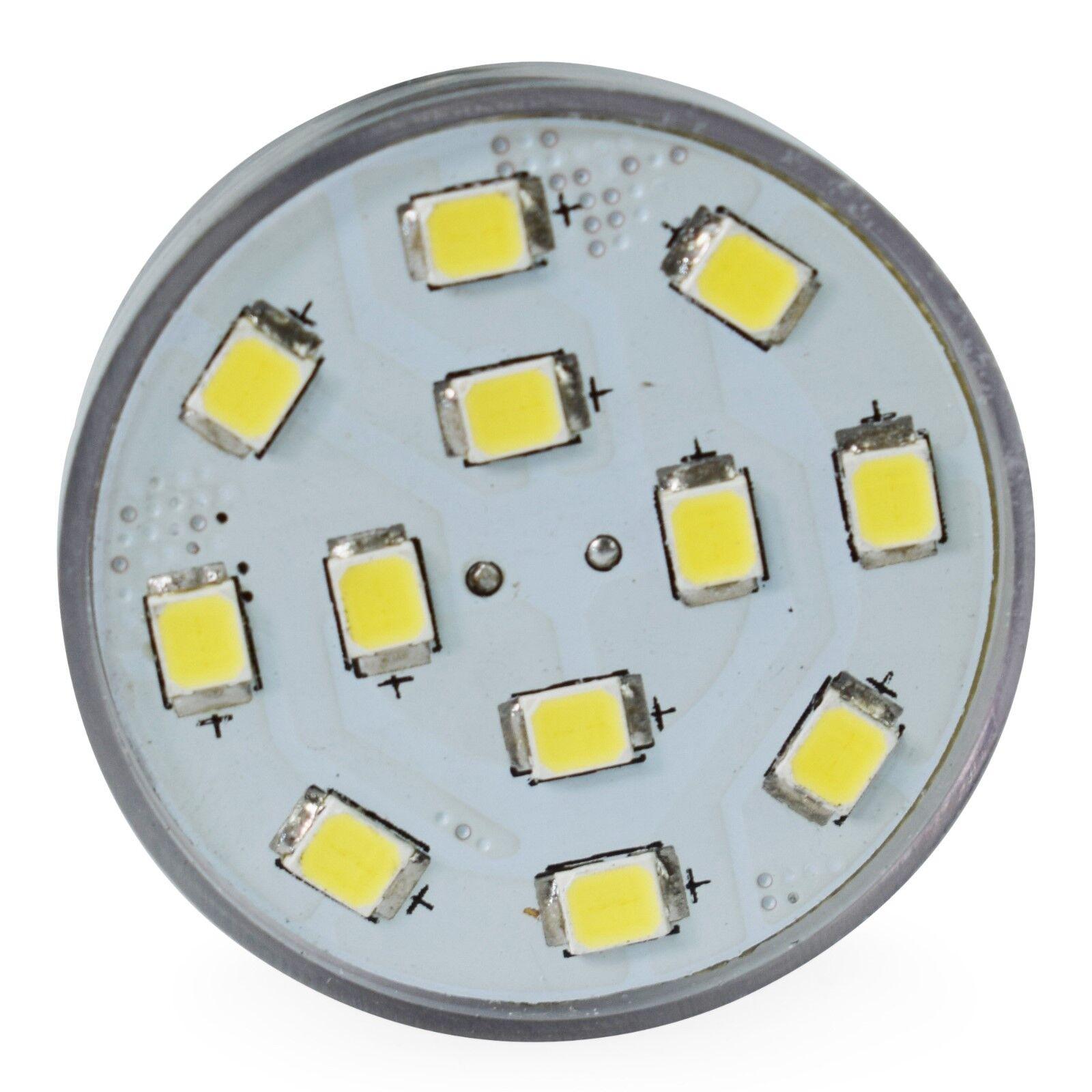 4 Pack LeisureLED  Light 1156 1139 1141 1383 LED Bulb 2 Watt 275 Lumen CW Long