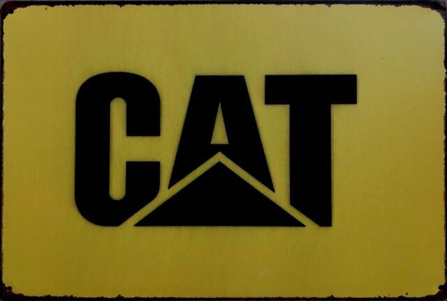 CAT GARAGE Tin Metal Sign Rustic Look .. MAN CAVE . brand new. AU SELLER