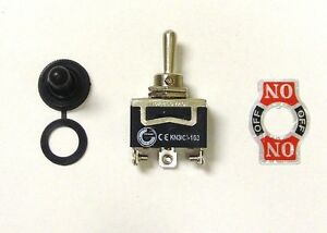 2 BBT Heavy Duty Pre Wired On//Off 12 volt,10 amp Mini Toggle Switches for RVs