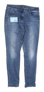Womens-George-Blue-Denim-Jeans-Size-10-L30