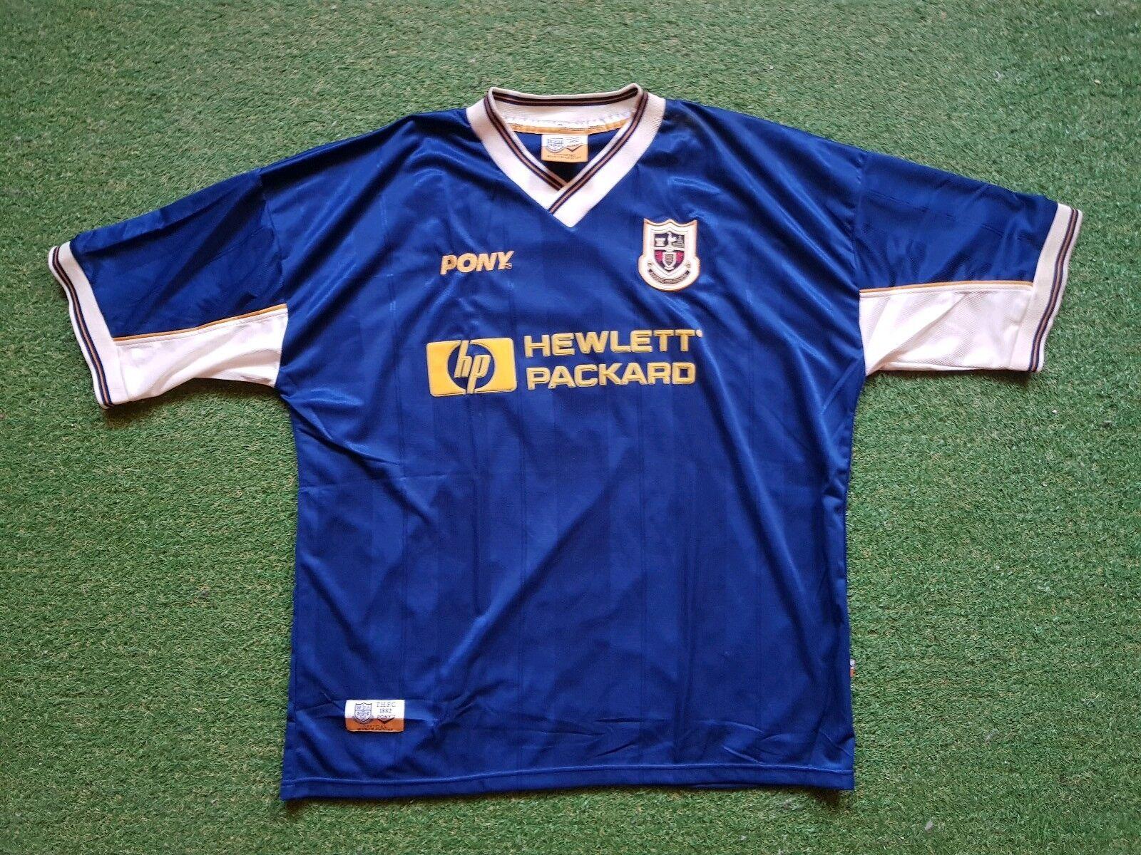 Tottenham Hotspur Football Shirt XXL Pony 1997 1998 JERSEY TRIKOT HEWLETT