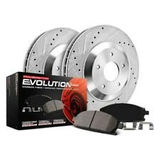 Power Stop K751 Front and Rear Z23 Evolution Brake Kit with Drilled//Slotted Rotors and Ceramic Brake Pads