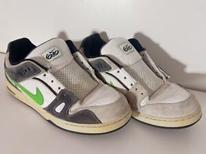 nacionalismo Chip Despedida  Mens Nike SB 6.0 Shoes Size 11.5 Green White Grey Skateboard Gray  skateboarding | eBay