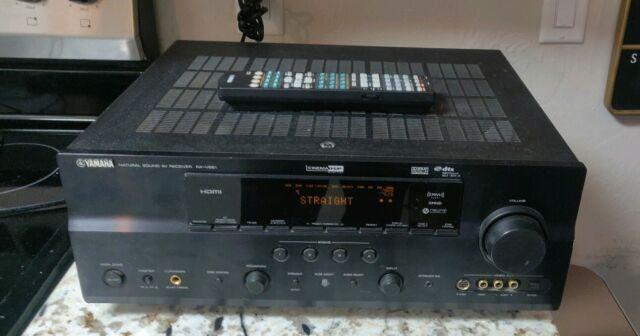 Yamaha Rx V661 71 Channel 90 Watt Receiver No Remote