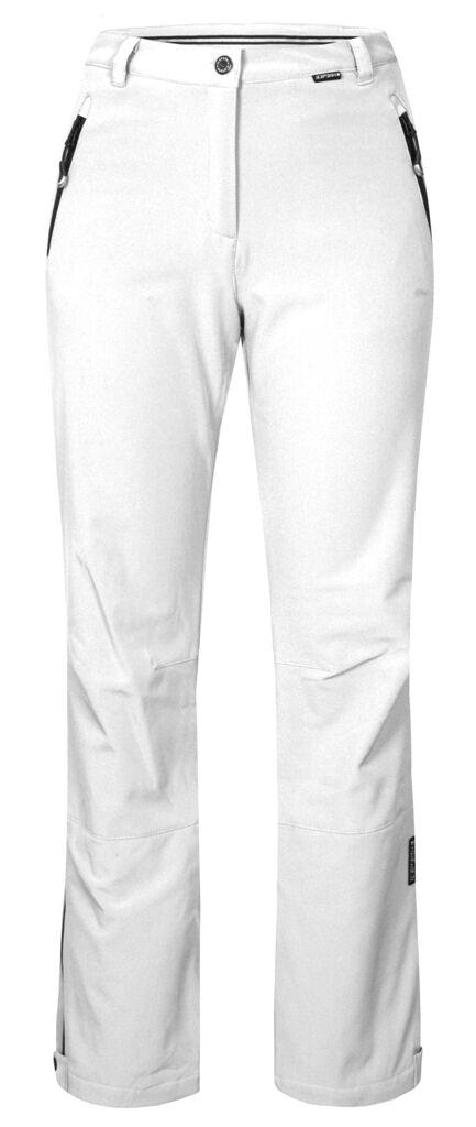 ICE PEAK Riksu Womens WHITE STRETCH SKI PANTS trouser Ladies SHORT LEG
