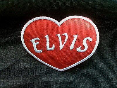 Elvis Iron On Musik Font Aufn/äher Elvis zum aufb/ügeln Patch