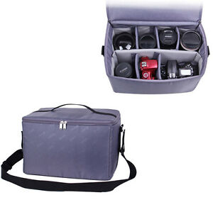 Padded-Camera-Lens-Insert-Case-Bag-Partition-Cover-For-Canon-Sony-Nikon-DSLR-SLR