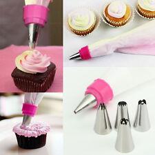 Icing Piping Nozzles Tips Pastry Bag Cake Cupcake Sugarcraft Decorating Tool DIY