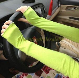 Women-Girl-Warm-Arm-Warmer-Cotton-Long-Fingerless-Gloves-Latest