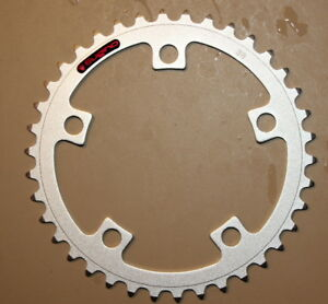NEW-Sugino-38T-chainring-5-bolt-110mm-silver-annodized