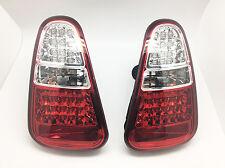 Smoke LED Tail Lights Rear Lamps W reverse Fits 04-06 Mini Cooper R50 R52 R53