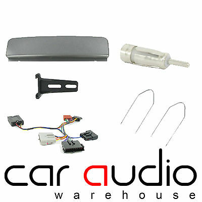 Ford Connect 2000-2006 Car Stereo S//Din Fascia Panel /& Steering Wheel Interface