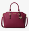 Michael-Kors-Ciara-Large-Top-Zip-Satchel-Saffiano-Leather thumbnail 77