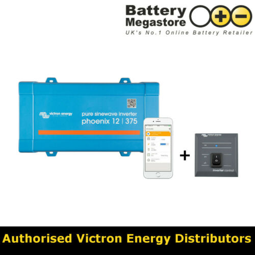 PIN123750400 Victron Energy Phoenix Inverter 12//375 230V VE.Direct UK
