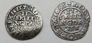 Daenemark-Denmark-Christian-IV-2-Skilling-1625-1665
