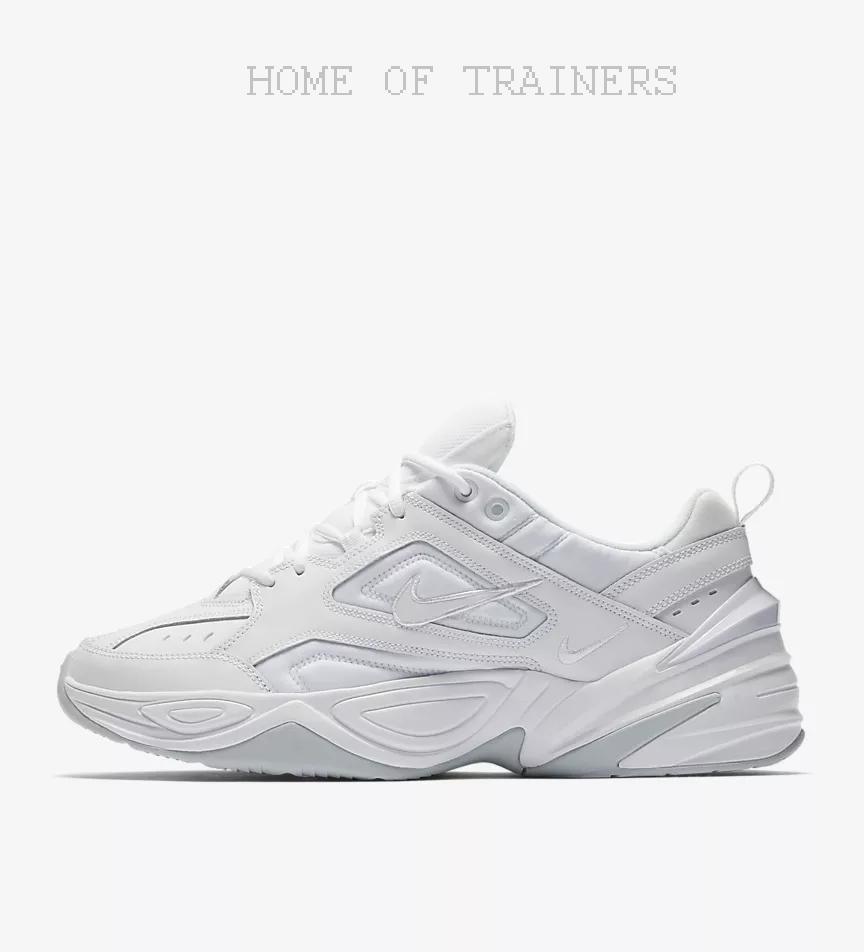 Nike M2k Tekno Bianco Platino Puro Uomo Scarpe da Ginnastica Tutte le Misure