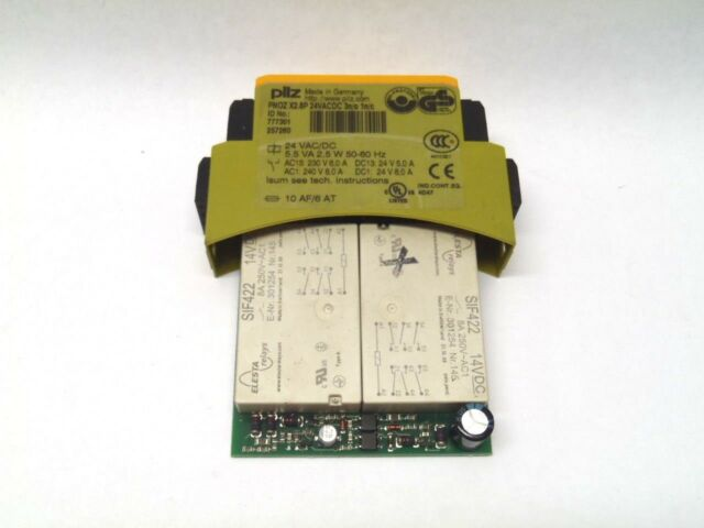 Pilz PNOZ X2.8P Safety Relay Module 24VACDC