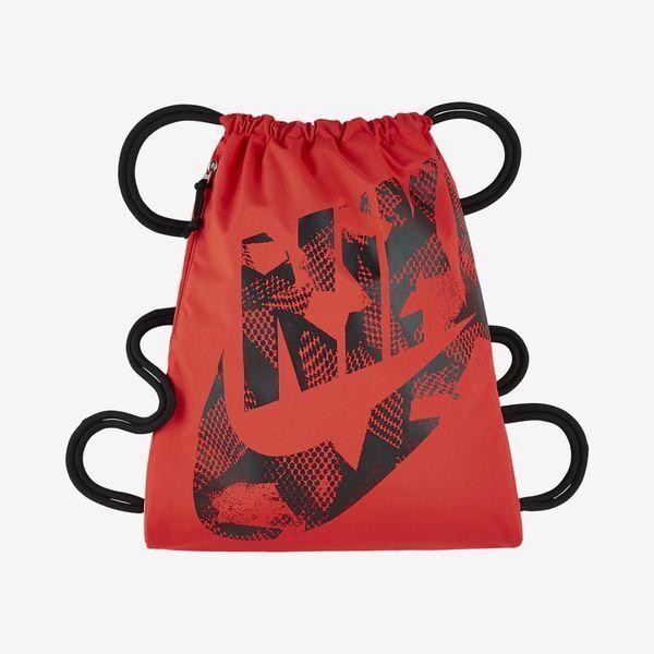 bcfc0db413df Nike Heritage Gymsack Gym Bag Day Sack Pack Max Orange   Black Ba5351-852  for sale online