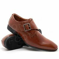 New Mens Italian Style Black Formal Lace Up Wedding Office Smart Casual Shoes UK