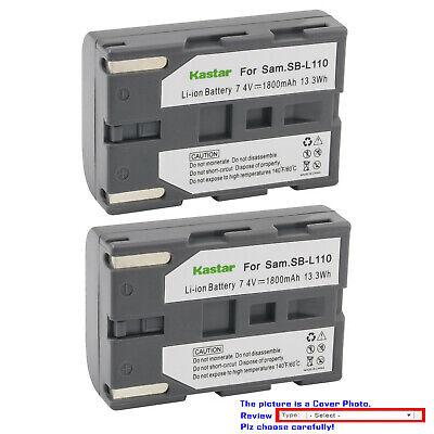 Bateria para sb-l110 Samsung vp-d73 d73i d75 d75i d76 d77