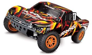 Traxxas-Slash-4X4-RTR-4WD-Brushed-Short-Course-Truck-Battery-DC-Charger-Orange