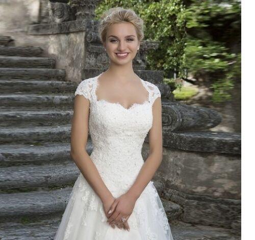 Mermaid Robe de mariée robe de mariée robe de mariée Babycat collection Ivory bc626c 36