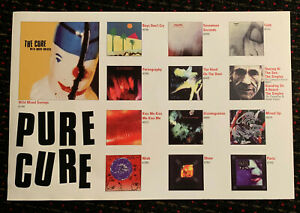 the-CURE-20x30-PURE-album-covers-catalog-promo-poster-2sided-display-Elektra