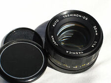 YASHICA AUTO YASHINON-DS 50mm F/1.4 lens for PENTAX M42 screw mount SN1033900