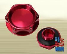 Red JDM Car Engine Oil Filter Cap Cover Plug Civic Crx Ef Ej Eh Eg Ek Em1 Ep3