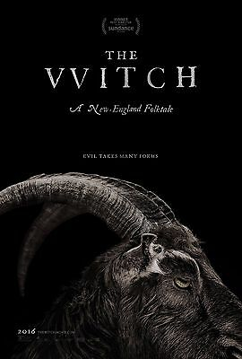 """The Witch Movie Poster Horror (2016) VVitch """"Black Phillip"""" 