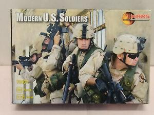 Modern US Soldiers - Mars Miniatures Soldatini 1/72 Plastic 72103