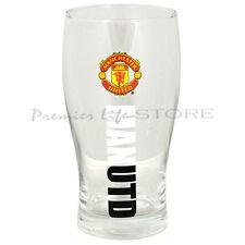 Manchester United FC Crest Pinta in vetro-ultime birra in vetro