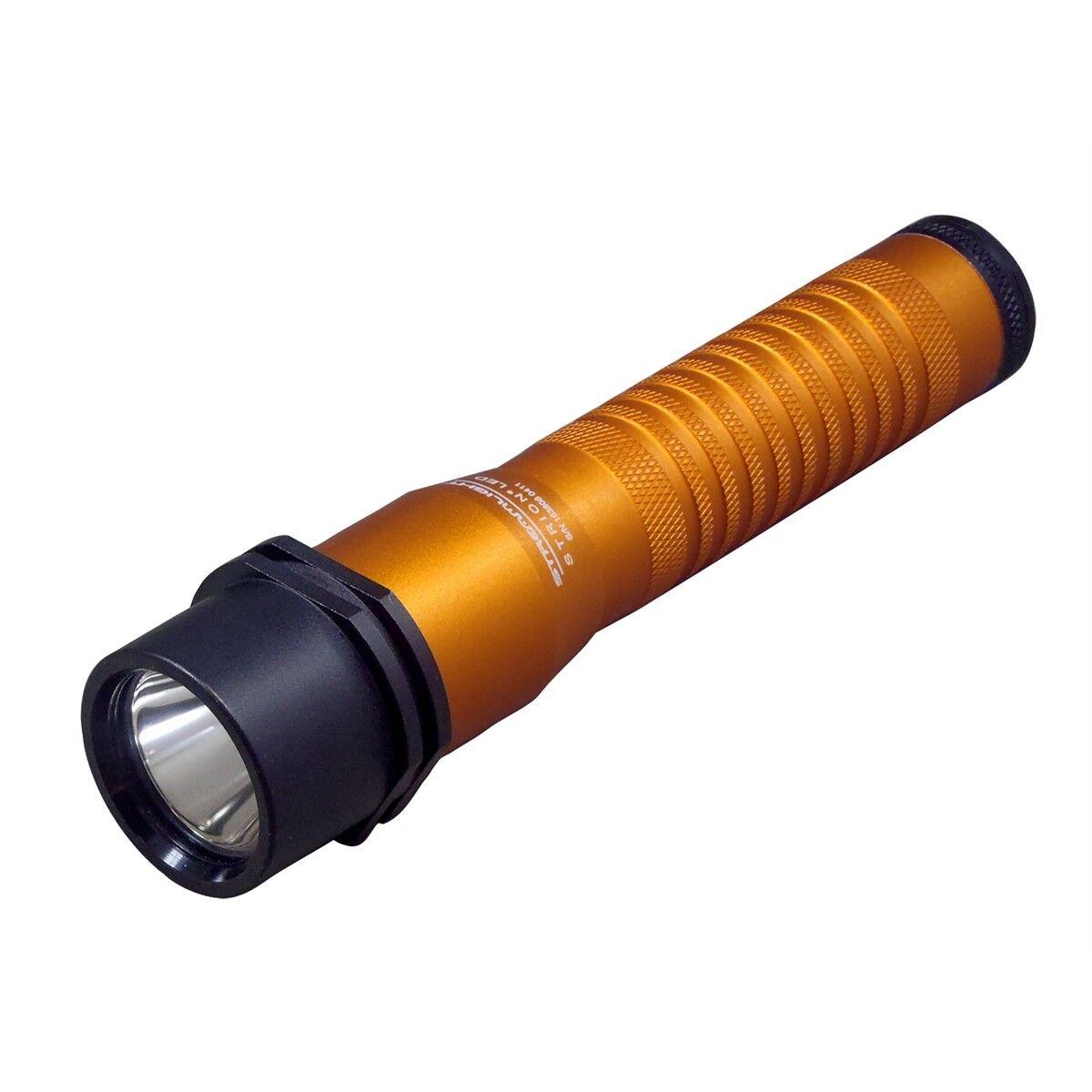 Streamlight 74347 Strion LED anodizado naranja kitflashlight AC DC