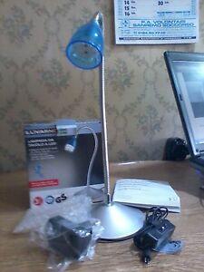 Lampada Da Tavolo 9 Led Livarno In Confezione Originale Ottime Condizioni 34 5cm Ebay