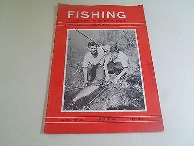 Genereus Vintage 24th May 1963 Fishing The Magazine For The Modern Angler+advertising Matige Prijs