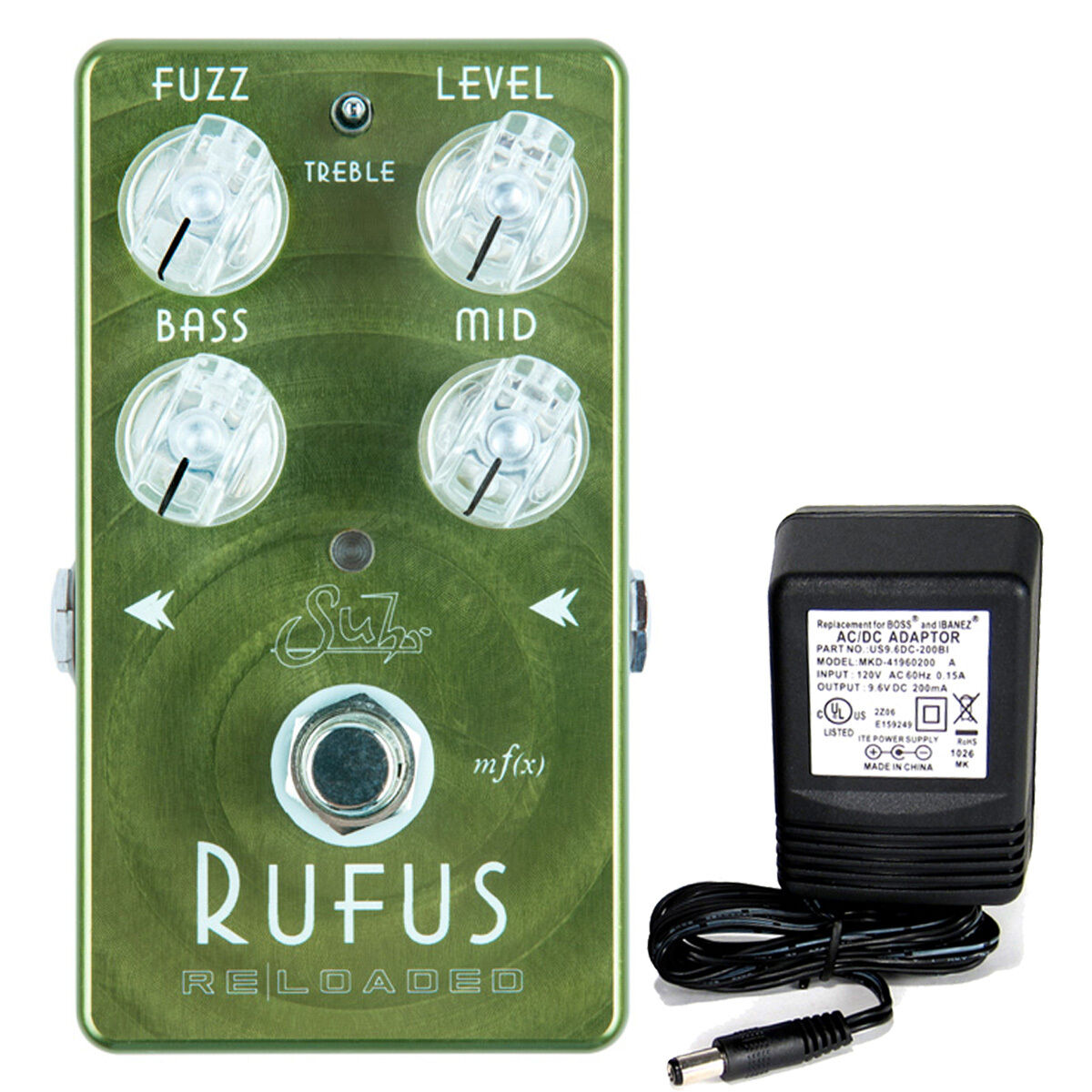 Suhr Rufus Reloaded Fuzz Pedal W 9v Netzteil