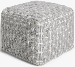 John-Lewis-Prism-100-Cotton-Bean-Bag-Cube-Pouffe-Foot-Stool-Grey-A