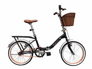 Dettagli Su Offerta Bici Bicicletta Pieghevole Romeo 20 Tipo Graziella Con Cestino