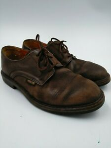 MEPHISTO-GOODYEAR-WELT-AIR-RELAX-MEN-039-S-BRN-LEATHER-SHOES-size-8-made-in-france