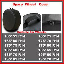 R14 Spare Wheel Cover Tyre Tire Storage Bag Car Van Caravan Motorhome Truck RW53