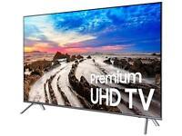 Samsung Un49mu8000fxza 49-inch 2160p 4k Uhd Smart Led Tv - Black (2017) on sale