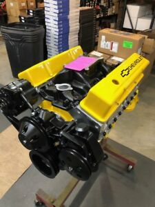 Details about 350 Street MOTOR 448HP ROLLER TURN KEY PRO STREET CHEVY CRATE  ENGINE SBC CNC