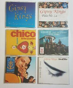 GIPSY KINGS & CHICO ♦ LOT 6 x MAXI-CD ♦ remixes, promo...