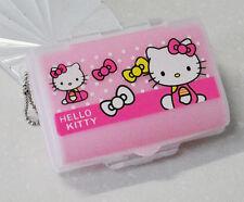 Cute Hello Kitty Pill Box Organizer Medicine Vitamin Storage Travel
